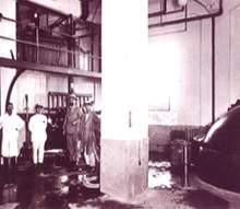 大正時代の仕込室風景